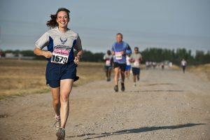 Was man mal so mitnehmen kann II – Halbmarathon