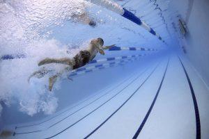 Endlich wieder schwimmen